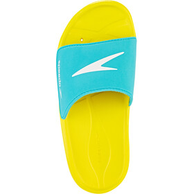 speedo Atami Core Sandalias Niños, empire yellow/bali blue